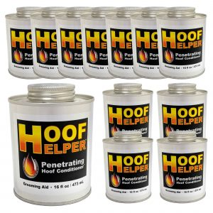 Hoof Helper Penetrating Hoof Conditioner Oil 12 Pack