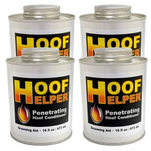 Hoof Helper Penetrating Hoof Conditioner Oil 4 Pack